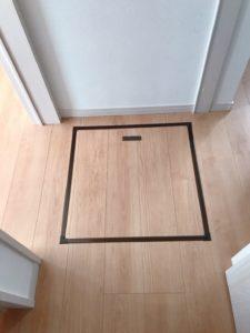 床下収納 位置