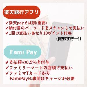 固定資産税 支払 お得 楽天 Fami